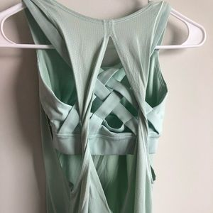 lululemon athletica Tops - Lululemon backless top with attached bra